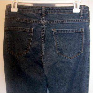 Forever 21 Dark Wash Skinny Jeans Womens W-2